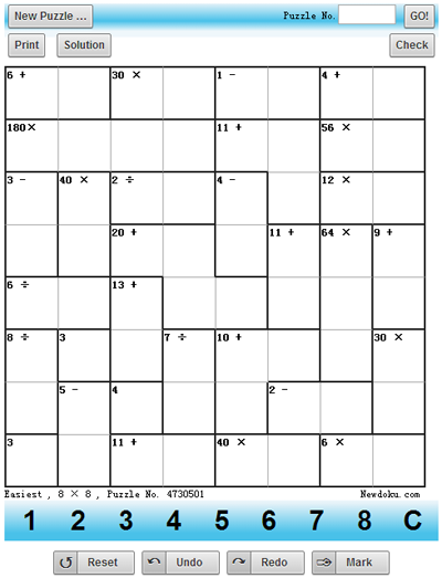 graphic relating to Printable Sudoku 6 Per Page called Print design and style - 4 Sudoku puzzles upon every webpage