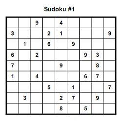 graphic regarding Hard Sudoku Puzzles Printable named Challenging sudoku puzzles